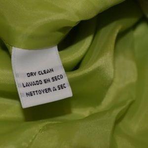 Dior Dresses - Vintage 1990's Christian Dior Lime Green Suit